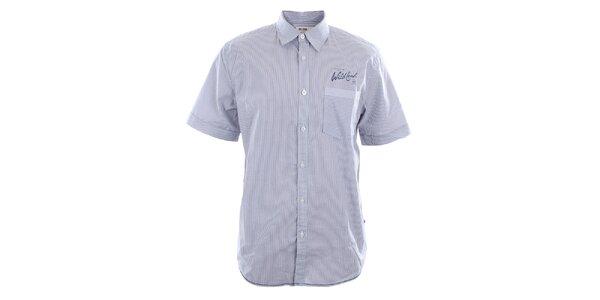 Pánska bavlnená košeľa s jemnými prúžkami Big Star