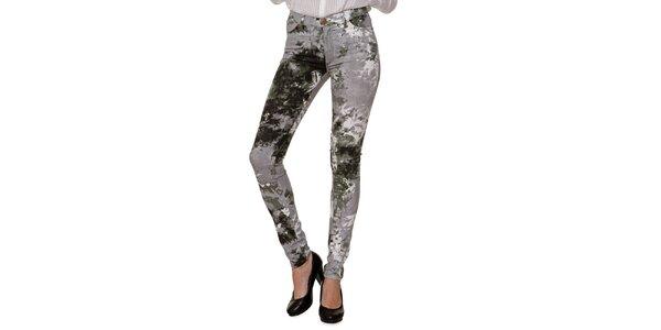 Dámske maskáčové džínsy 2nd One