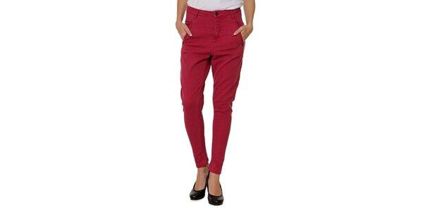 Dámske červené nohavice Fiveunits