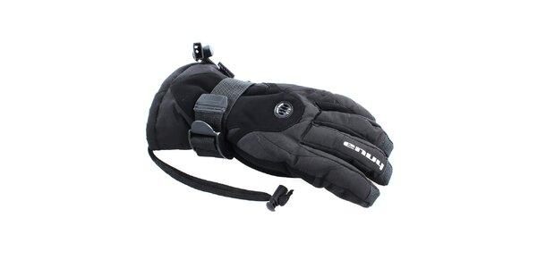 Dámske čierne rukavice s ventiláciou Envy