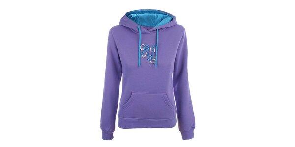 Dámska svetlo fialová mikina s nápisom Envy