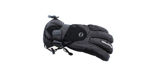 Pánske čierne zimné rukavice s ventiláciou Envy