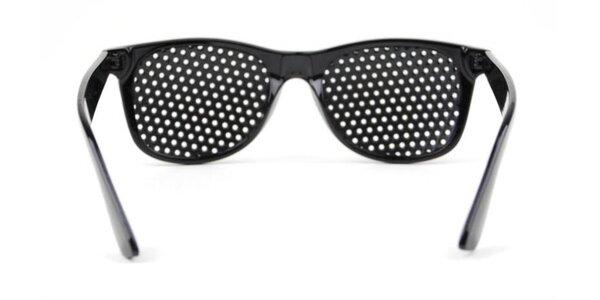 Revolučné dierkované okuliare Eyehealth - RayBan imitácia