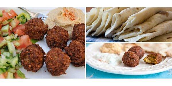 1,90 eur za Falafel – orientálne jedlo so zľavou 51%