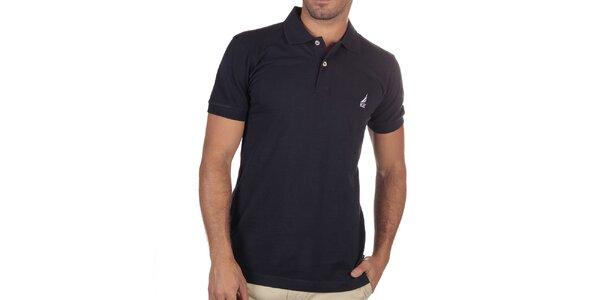 Pánske tmavomodré polo tričko Nautica