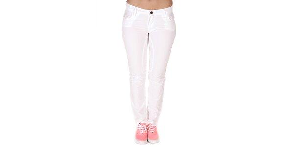 Dámske biele rovné nohavice Nautica