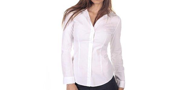 Dámska biela košeľa s dlhým rukávom Nautica