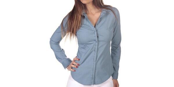 Dámska svetlo modrá košeľa s dlhým rukávom Nautica