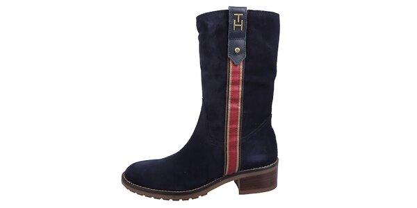Dámske tmavo modré topánočky Tommy Hilfiger