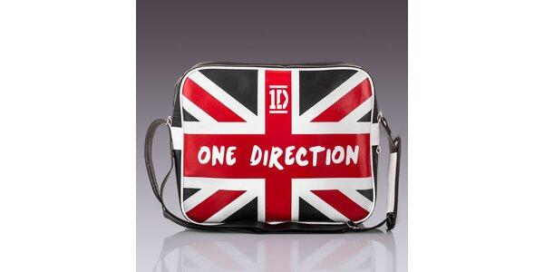 Pánska taška s britskou zástavou Solier
