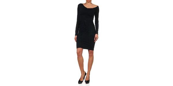 Dámske čierne obtiahnuté šaty Guess by Marciano