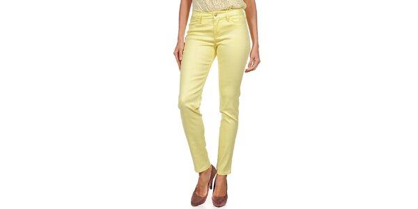 Dámske žlté nohavice Guess by Marciano