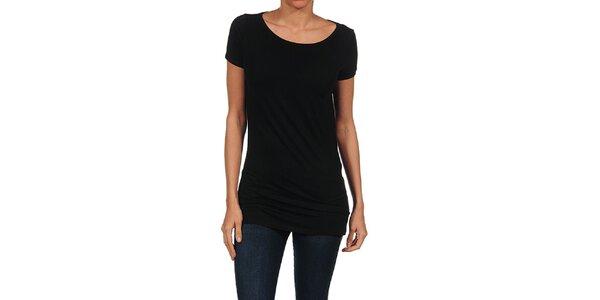 Dámske čierne splývavé tričko Guess by Marciano