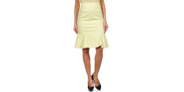 Dámska žltá sukňa do pása Guess by Marciano