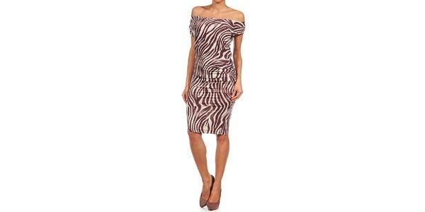 Dámske zebrové šaty Guess by Marciano