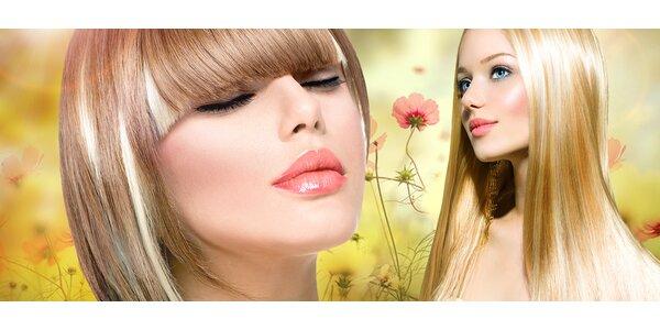 Strihanie, melír a záverečný styling vlasov