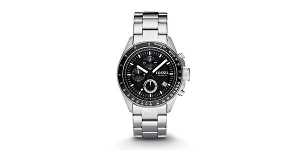 Pánske analógové hodinky z nerezovej ocele Fossil