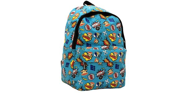 Modrý komiksový ruksak Paul Frank