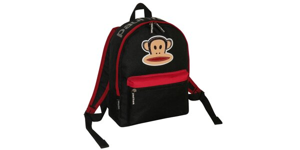 Čierny ruksak Paul Frank