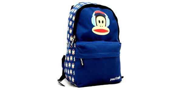 Modrý ruksak Paul Frank