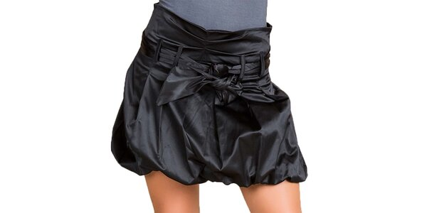 Dámska čierna balónová sukňa Keysha