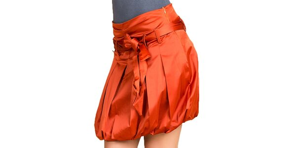 Dámska oranžová balónová sukňa Keysha