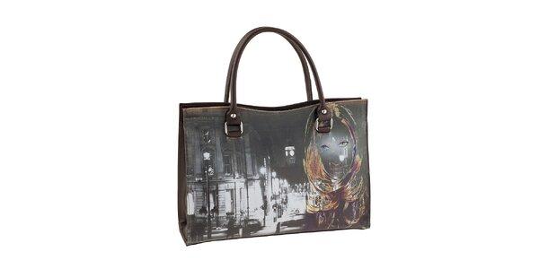 Dámska kabelka s potlačou dámy Valentina Italy
