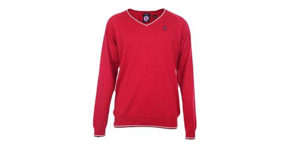 Pánsky červený sveter The Spirit of 69