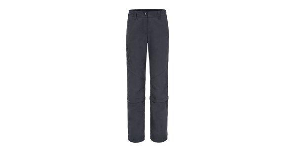 Dámske tmavo šedé funkčné nohavice Maier s odopínateľnými nohavicami