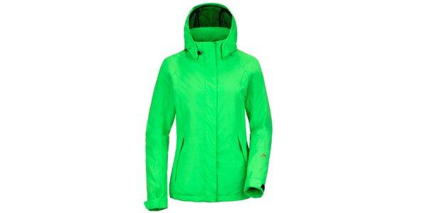 Dámska funkčná bunda v zelenej farbe Maier
