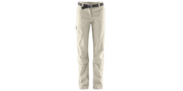 Dámske odopínateľné svetlo béžové nohavice Maier