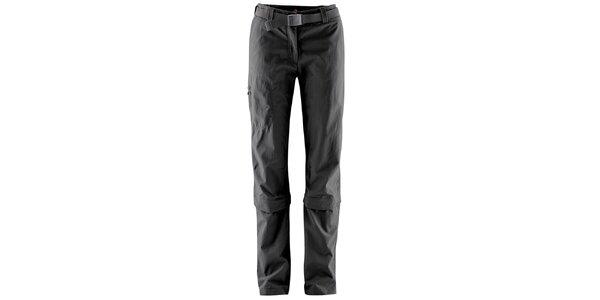 Dámske odopínateľné čierne nohavice Maier