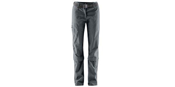 Dámske odopínateľné antracitové nohavice Maier