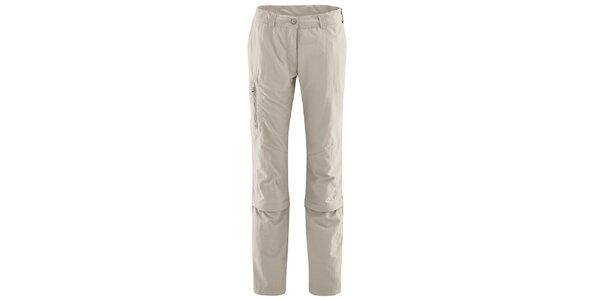 Dámske béžové nohavice s odopínateľnými nohavicami Maier