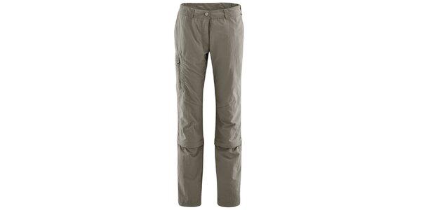 Dámske šedé nohavice s odopínateľnými nohavicami Maier