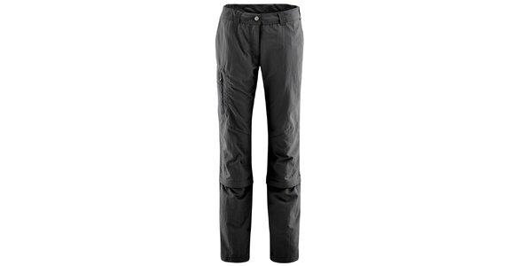 Dámske antracitové nohavice s odopínateľnými nohavicami Maier