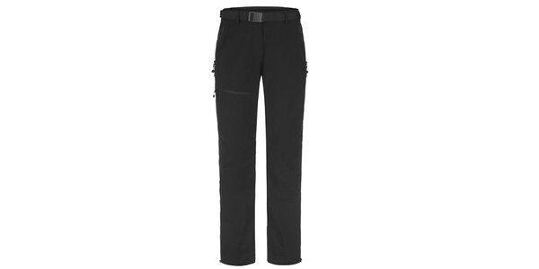 Dámske čierne outdoorové nohavice Maier