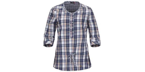 Dámska modrá košeľa s 3/4 rukávom Maier