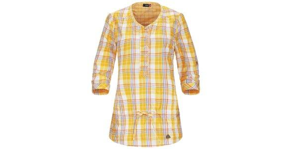 Dámska žltá košeľa s 3/4 rukávom Maier