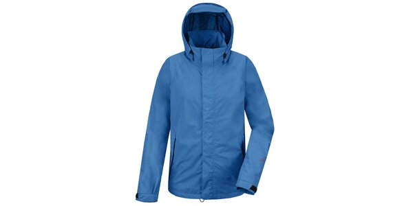 Pánska modrá funkčná bunda s kapucňou Maier