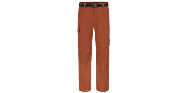 Pánske oranžové funkčné nohavice Maier