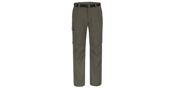 Pánske šedohnedé funkčné nohavice Maier