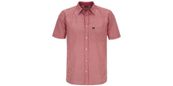 Pánska červená kockovaná košeľa Maier