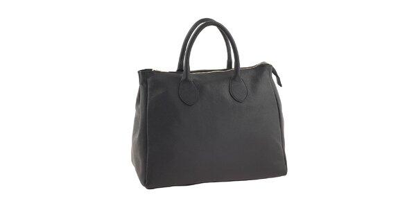 Dámska čierna taška so zipsom Valentina Italy