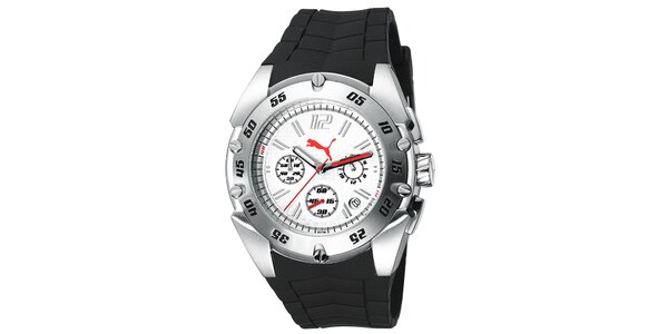 Pánske športové hodinky s plastovým remienkom Puma