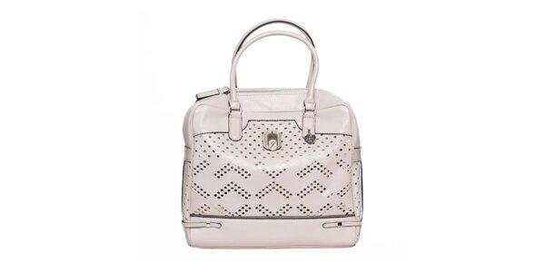 Dámska kabelka s dekoratívnou perforáciou Guess