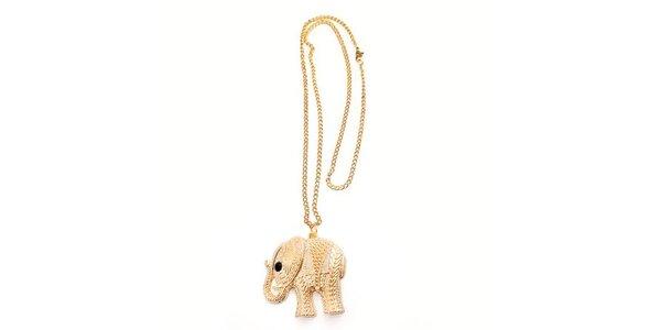 Dámsky náhrdelník so slonom Bubbles