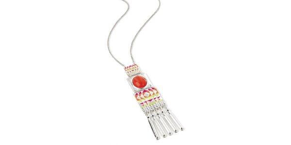 Dámsky indiánsky náhrdelník Red Bananas