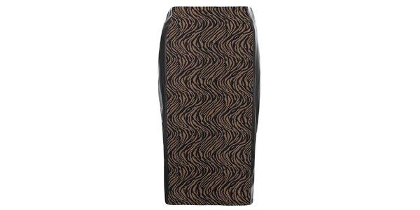 Dámska púzdrová sukňa so zvieracím vzorom Madam Rage