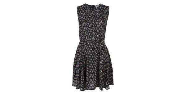 Dámske šaty s farebným kvetinovým vzorom Madam rage
